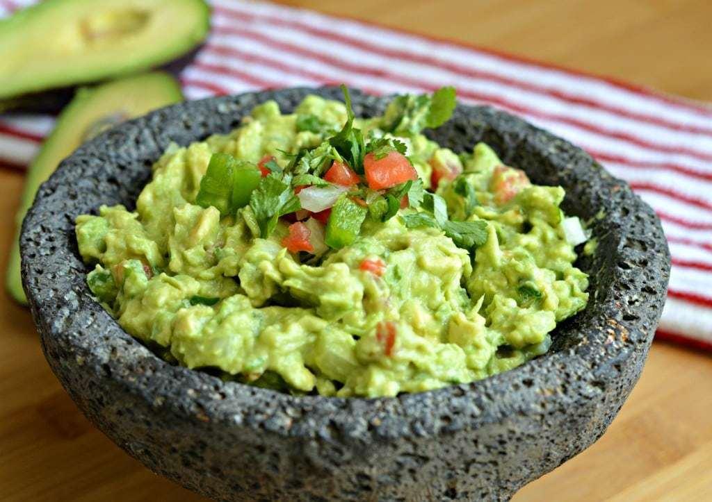 Healthy Snacks - Guacamole