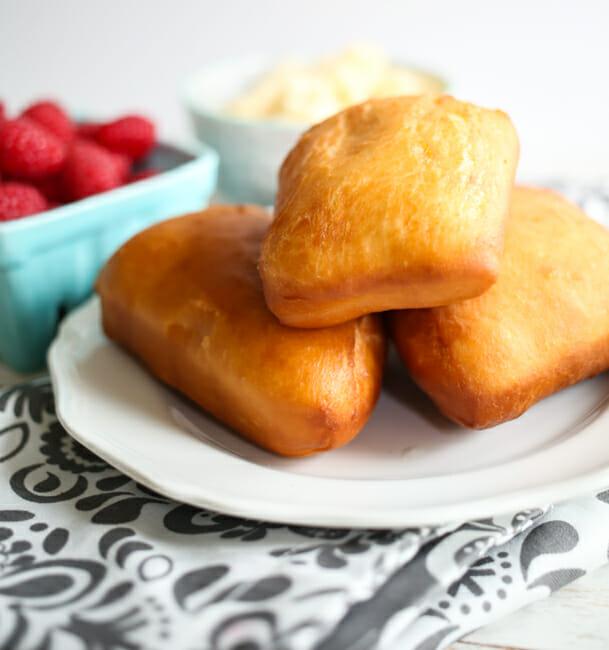 Foods that start with U - Utah Scones