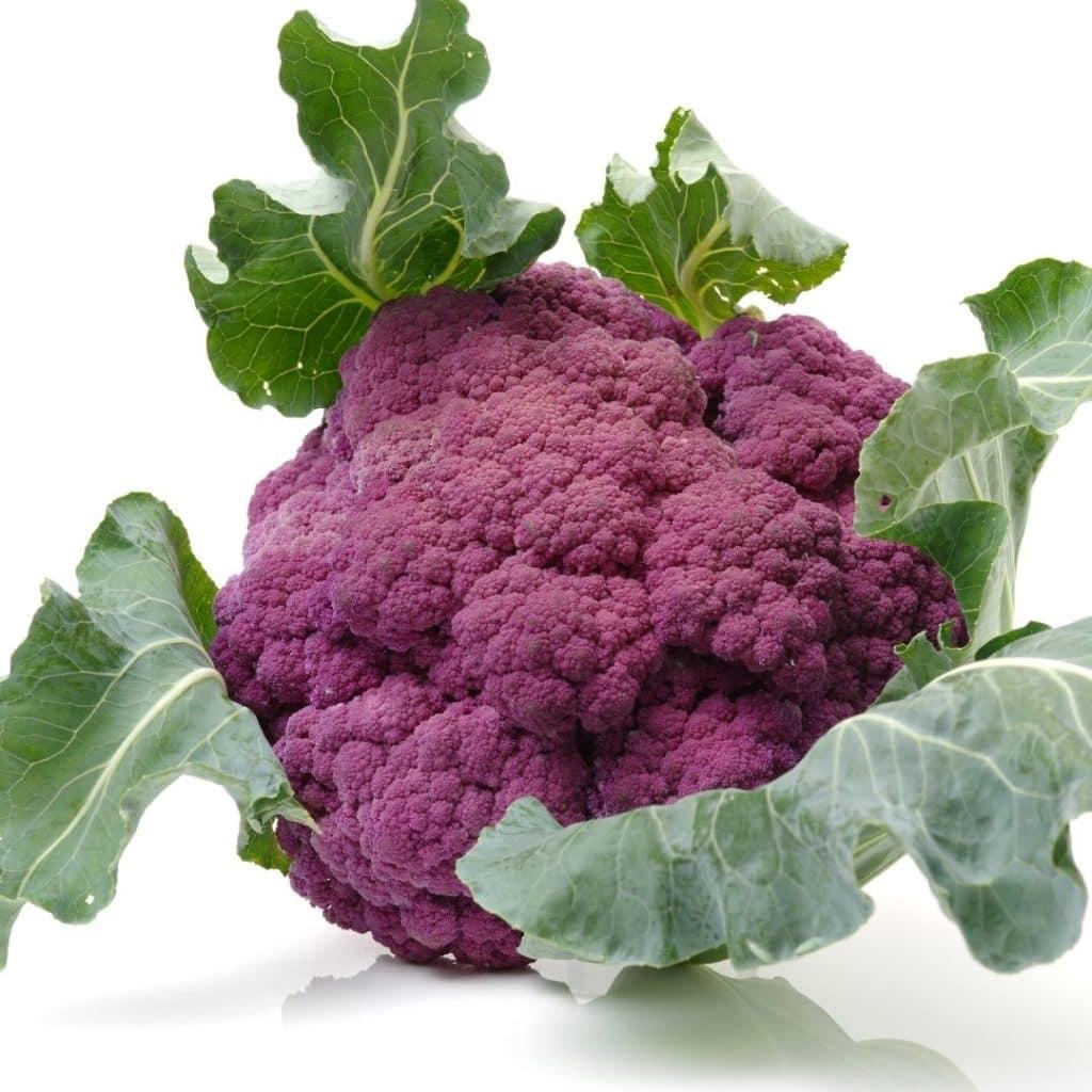 Purple Foods List - Purple Cauliflower