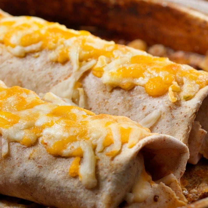 Canned Mackerel Recipes - Mackerel Burritos