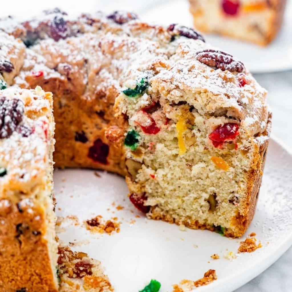 Snacks that start with X - X-Mas Cake