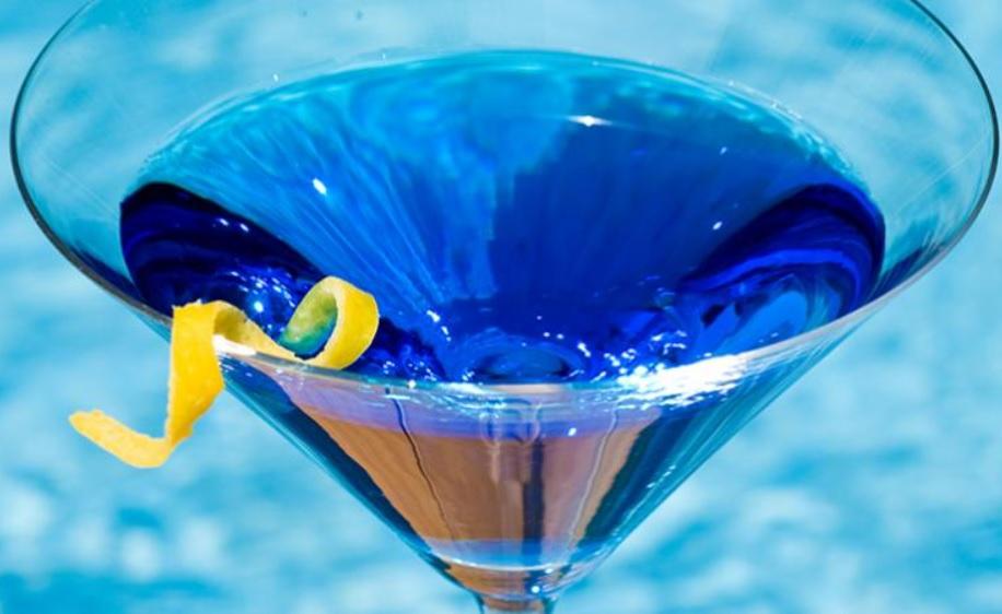 Blue Foods - Blue Martini