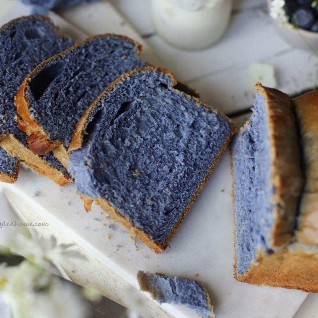 Blue Foods - Japanese Blue Bread