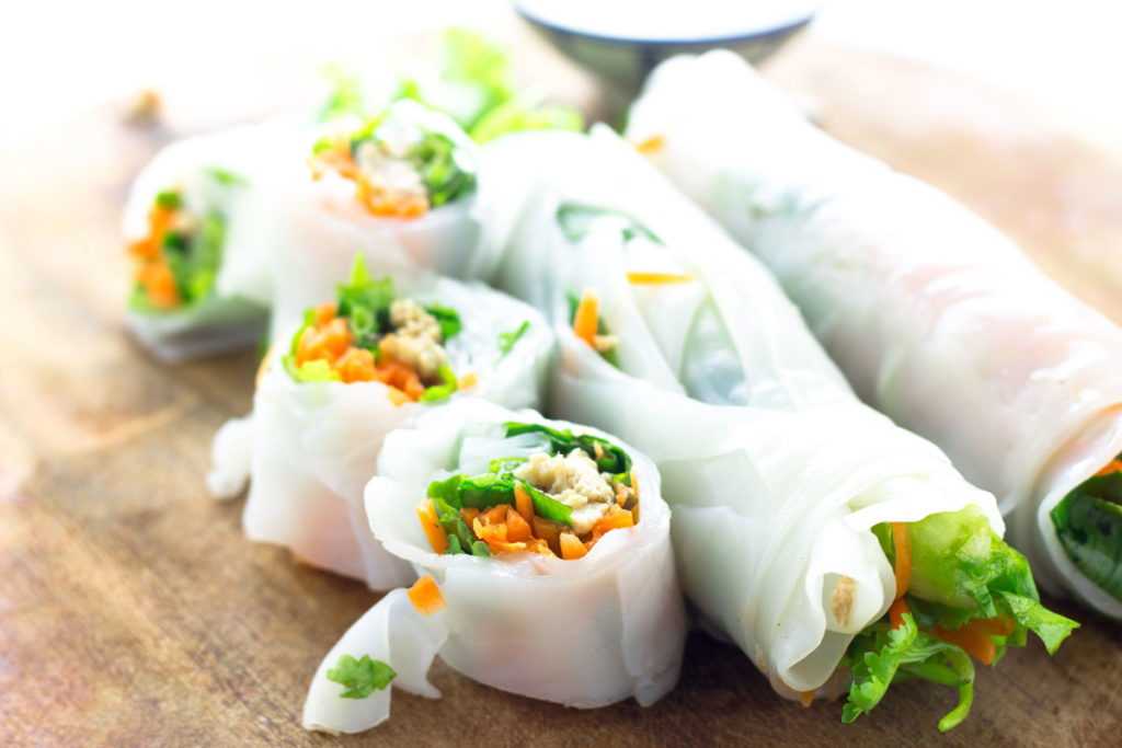 Canned Mackerel Recipes - Canned Mackerel Rice Paper Rolls
