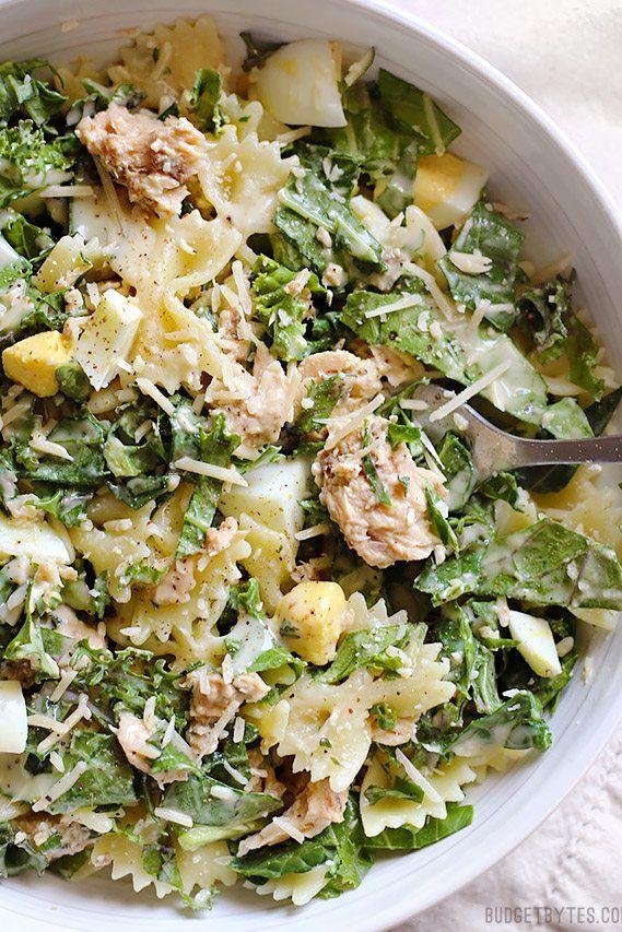 Canned Mackerel Recipes - Cesar Salad