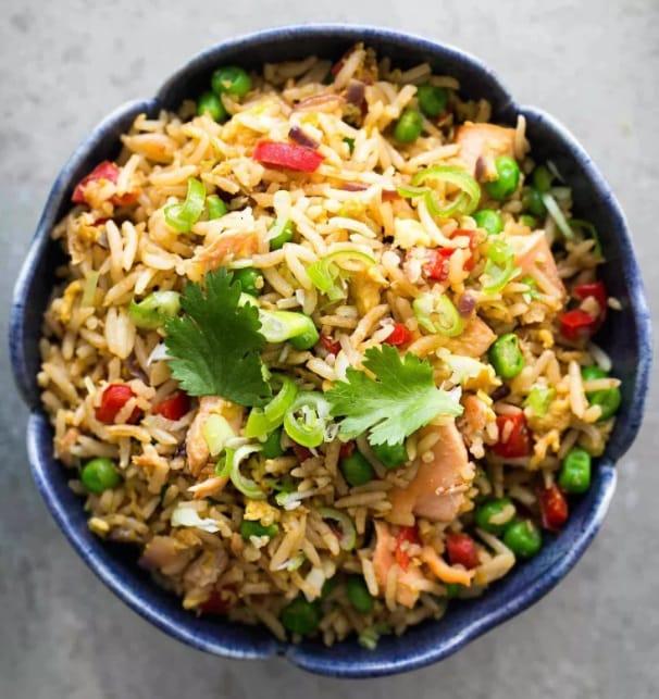 Canned Mackerel Recipes - Fried Rice