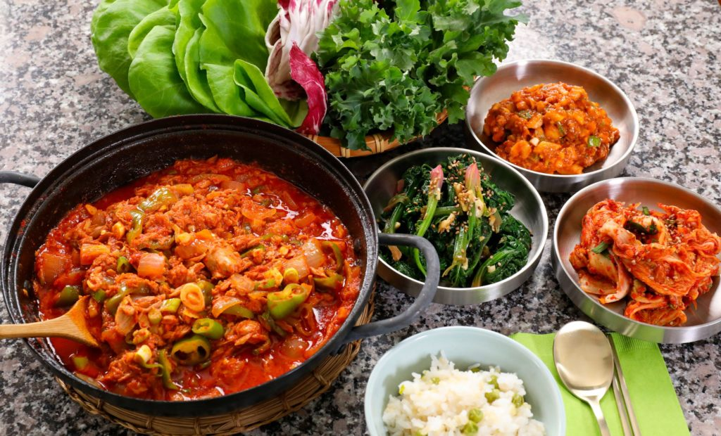 Canned Mackerel Recipes - Spicy Korean Stew with Canned Mackerel