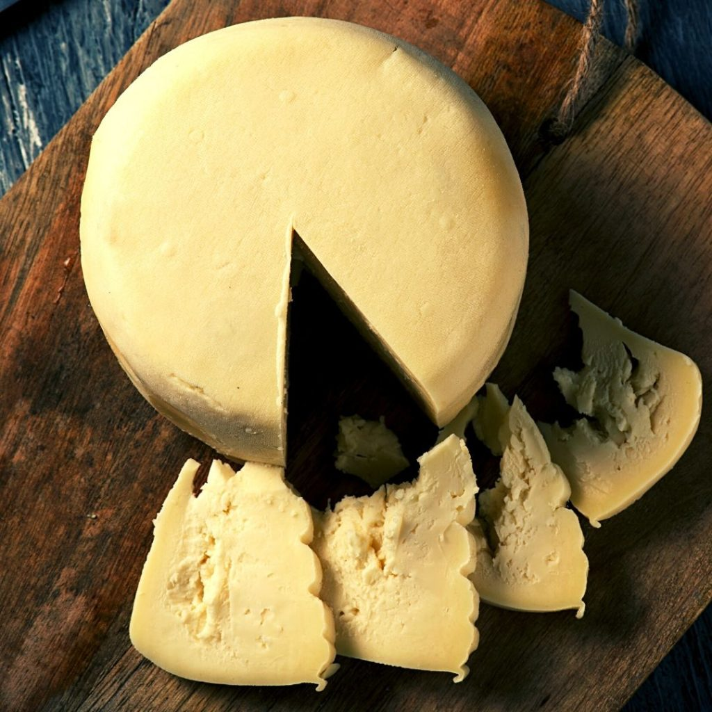 Foods that start with U - Ulloa Cheese