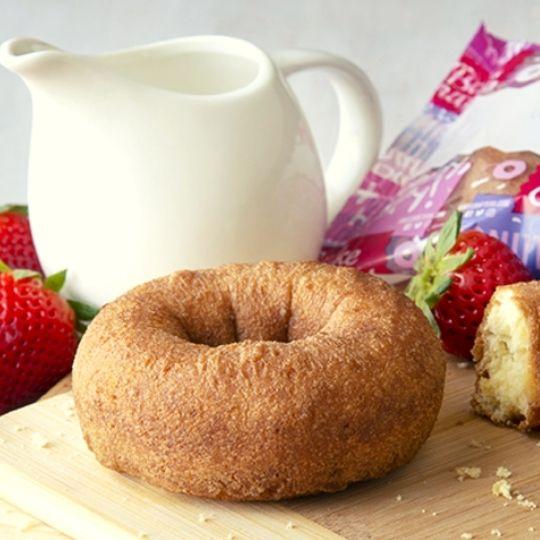 Foods that start with U - Unglazed donut