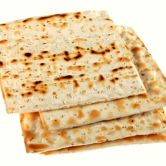 Foods that start with U - Unleavened Bread