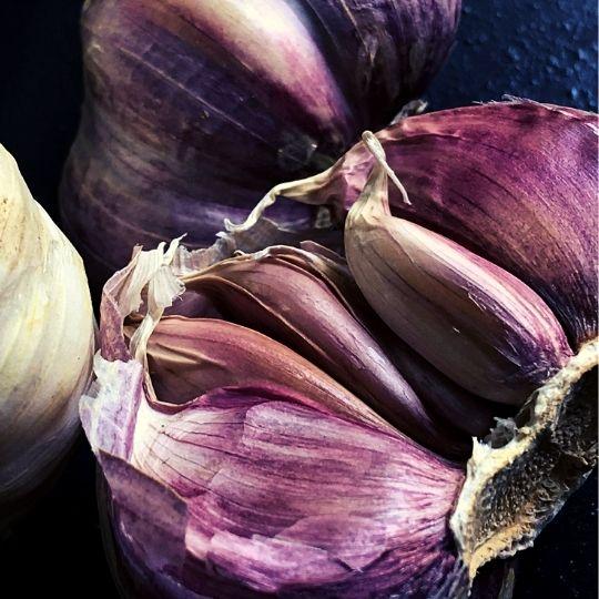Purple Foods - Purple garlic