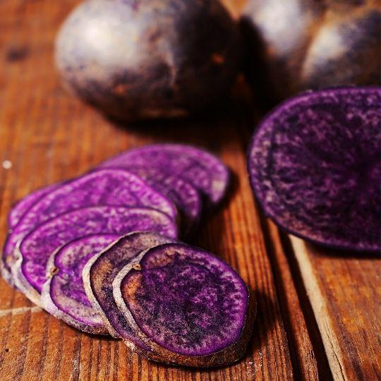 Purple Foods - Purple potatoes