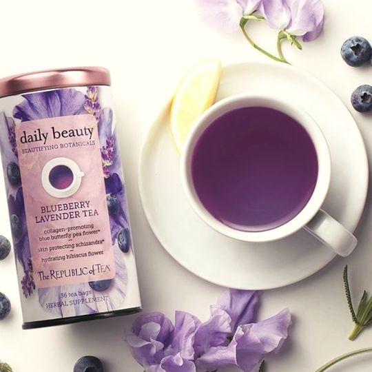 Purple Foods - lavender tea