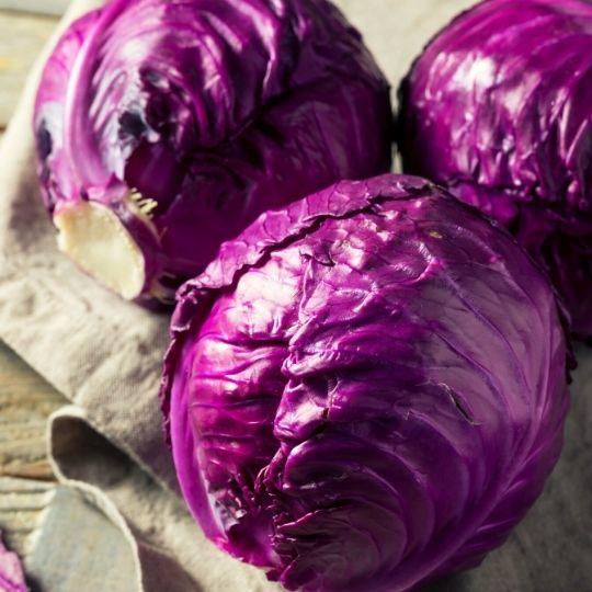 Purple Foods - purple cabbage