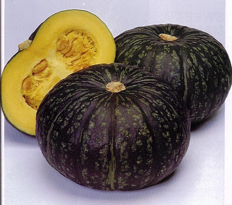 Frutas moradas - Kabocha