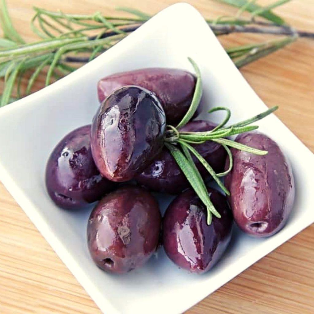 Frutos Morados - Aceitunas Kalamata